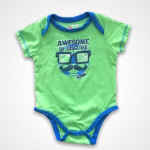 4/$20🥳 Puma Awesome In Disguise Onesie